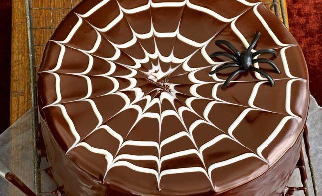 Torta al Cioccolato Halloween