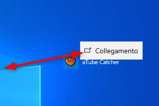 Trascinare sul Desktop