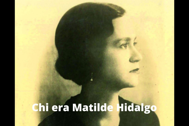 Chi era Matilde Hidalgo de Procel