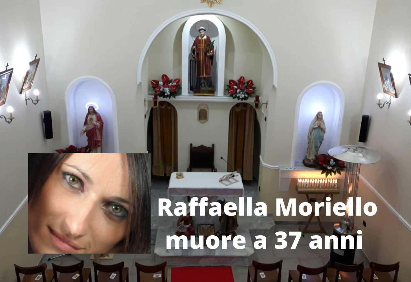 Raffaella Moriello muore a 37 anni