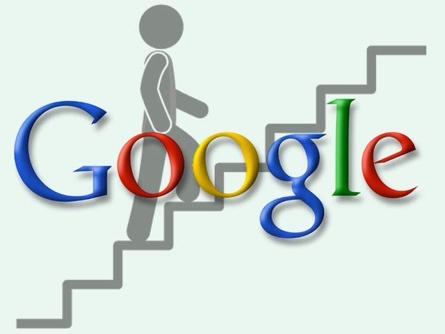 In prima pagina Google