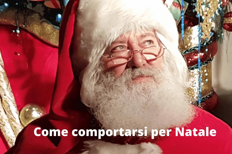 Come comportarsi per Natale