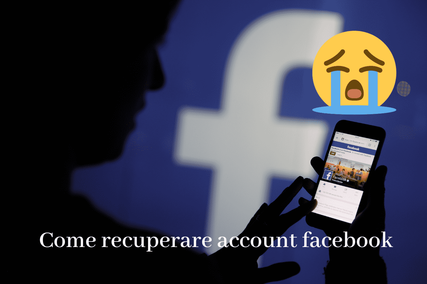 Come recuperare account facebook