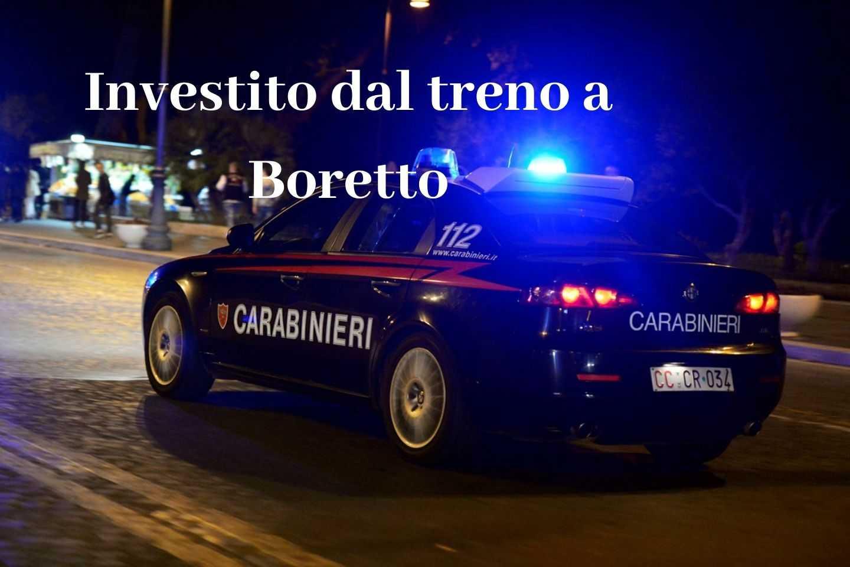Investito dal treno a Boretto: indagini in corso