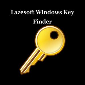 Lazesoft Windows Key Finder