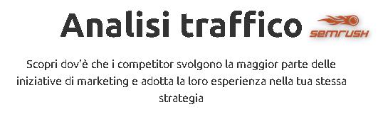 Analisi Traffico SEMrush - Come scoprire il traffico dei tuoi Competitor