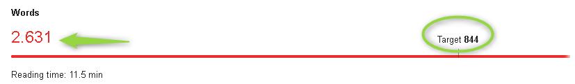 Contenuto troppo lungo - Il Tool che suggerisce la lunghezza