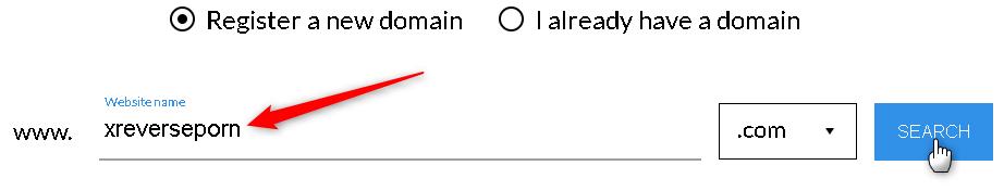 Nome di Dominio Porn Website