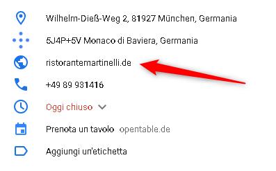 Sito web ristorante in Germania - Come trovare lavoro in Germania