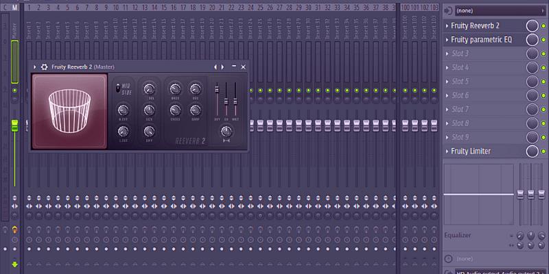 Effetti Mixer - Come fare un beat con FL Studio