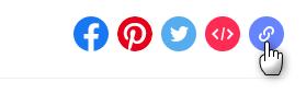 Simbolo a catena - Come eliminare un account TikTok