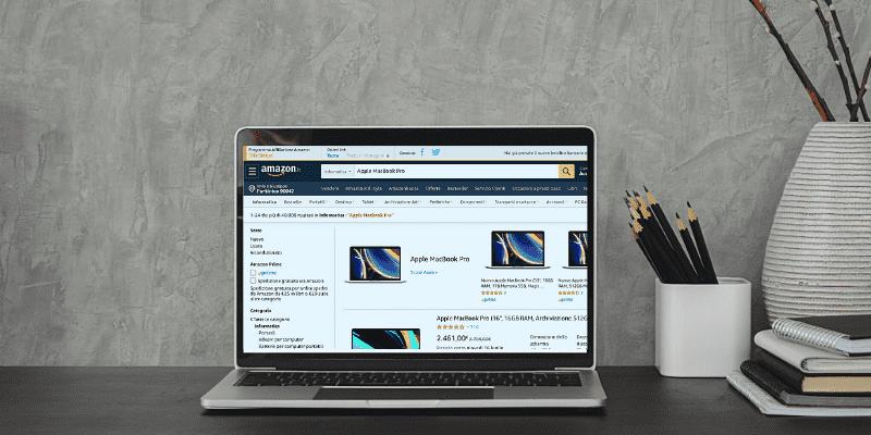 Come filtrare la scelta del computer in base alle proprie esigenze da Amazon