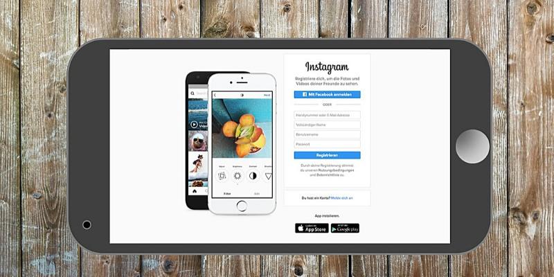 Accesso a Instagram per iPhone e Android - Come creare un account Instagram