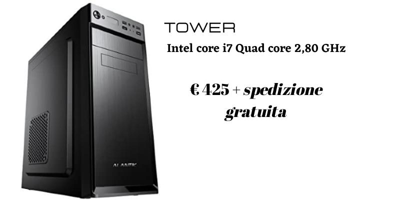 Computer desktop Intel core i7 Quad core