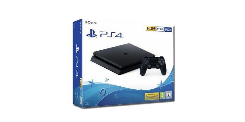 Console Sony Playstation 4 500 GB (Nero)