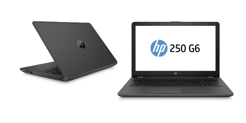 Notebook HP 250 G6 con Intel core i5 2,5 GHz