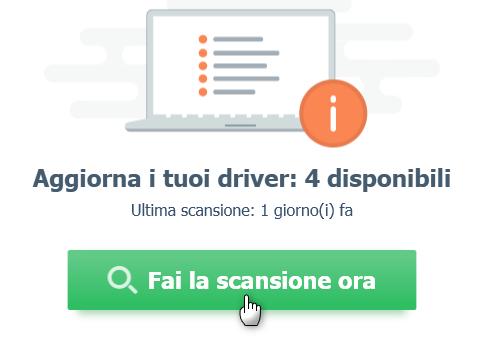Scansione driver - Come aggiornare i driver del PC
